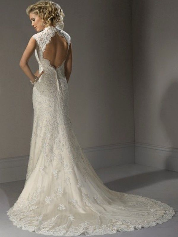 Luxurious-Sheath-Lace-Sweetheart-Wedding-Dress-with-Open-Back-WM-0371-01