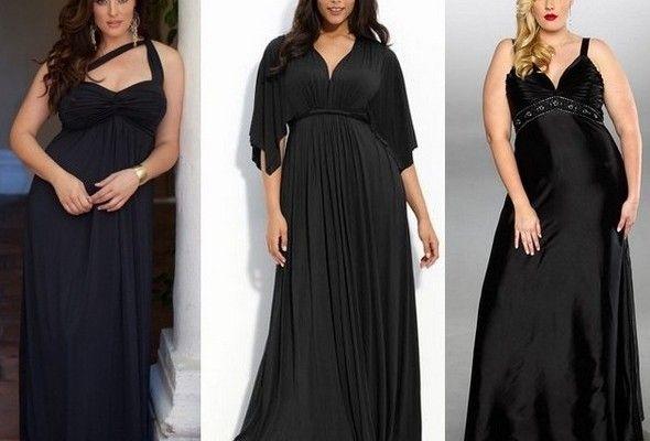 Также благосклонность модельеров получили асимметричные вечерние платья 2014 для полных