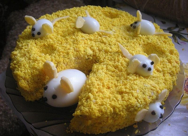 Детские праздничные салаты рецепт с