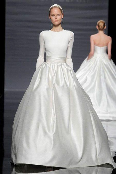 Свадебное платье 2014 длинный рукав отRosa Clara