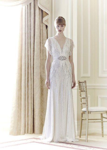 Свадебное платье 2014 в стиле ретро отJenny Packham