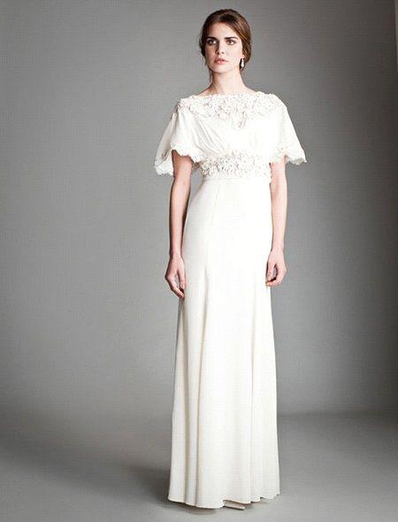 Свадебное платье 2014 в стиле ретро отTemperley London