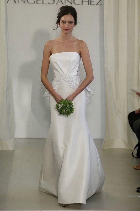 Свадебное платье 2014 баска отAngel Sanchez