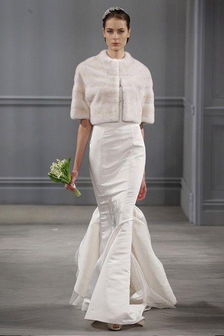Свадебное платье 2014отMonique Lhuillier
