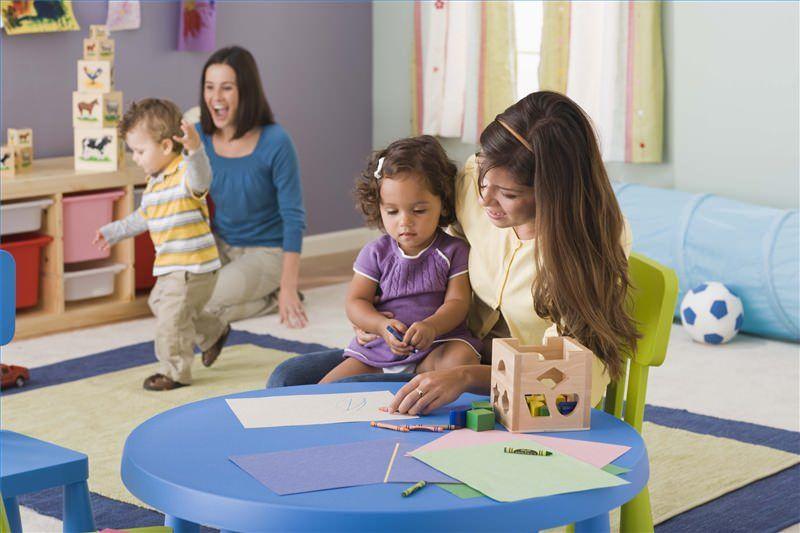Как правильно прощаться с ребенком в детском саду?