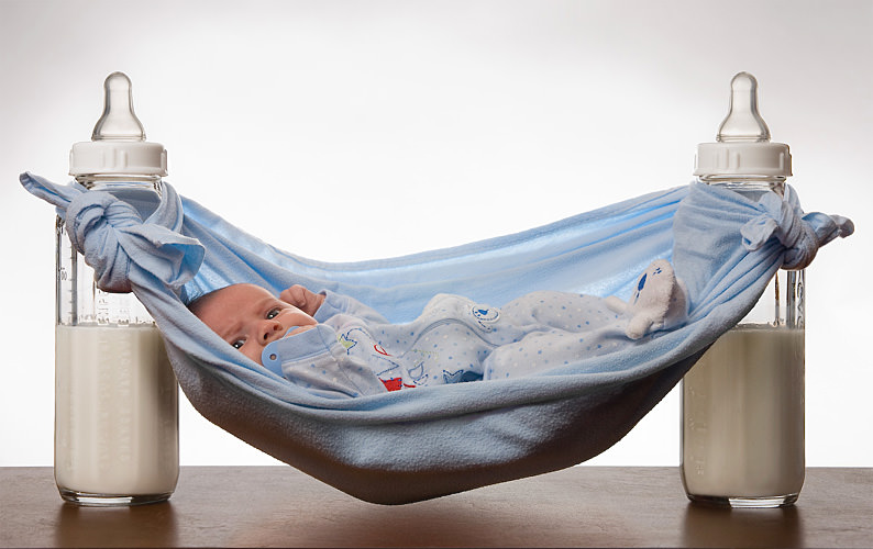 Как правильно подобрать смесь ребенку