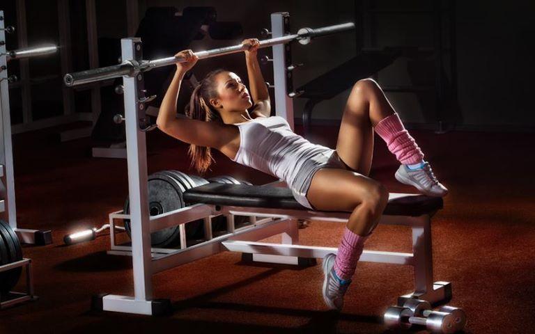 Красивый фитнес