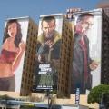 Рекламные вывески на фасадах зданий