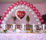 Оформление-свадьбы-шарами