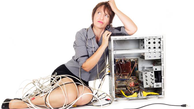 Что делать если сломался компьютер