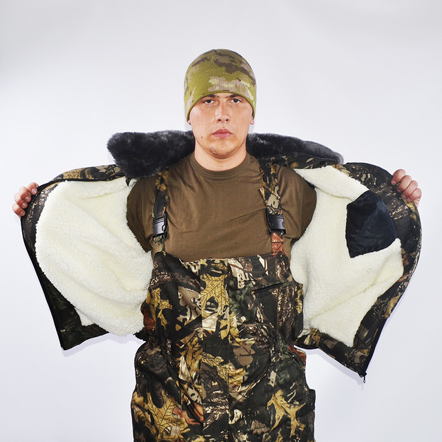 Бушлат - верный друг охотника, туриста и рыбака