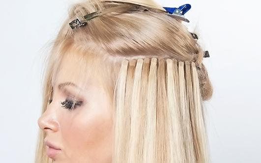 ленточного наращивания волос