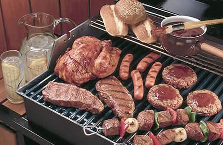 Как правильно готовить на огне мясо