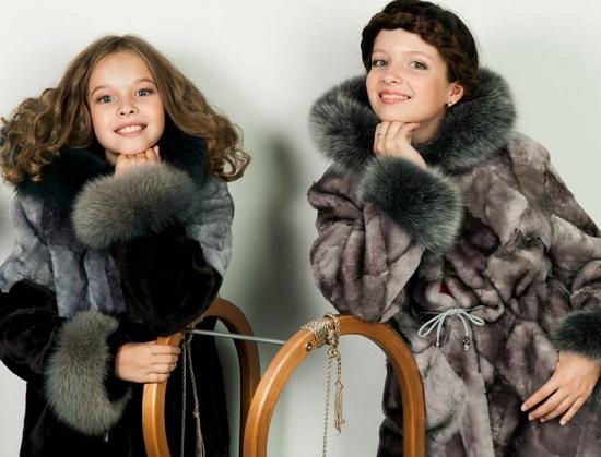 Особенности выбора меховой одежды для ребенка2